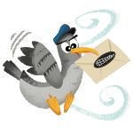 Pigeon voyageur de La Gâpette